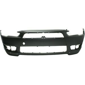 Front Bumper Bumper Cover For 2008 2015 Mitsubishi Lancer With With Air Dam Holes Fits 2010 Mitsubishi Lancer