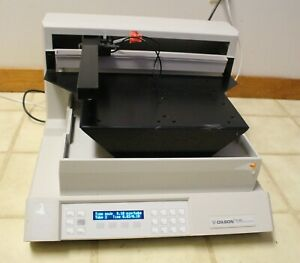 Gilson Fc 204 Fraction Collector With Microplate Sample Holder Platform