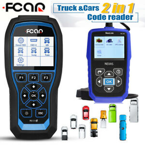 Obd2 Heavy Duty Truck Code Reader Engine Full System Scanner Truck Diagnostic