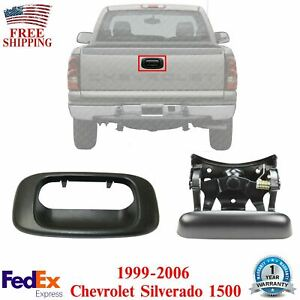 Tailgate Gate Handle Bezel For 1999 2006 Chevrolet Silverado 1500 Set Of 2