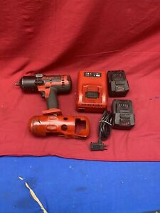 Snap on Ct7850 18 volt 1 2 Drive Impact Wrench W 2batteries Charger look