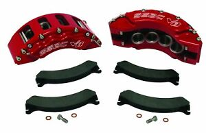 99 04 Ford F 250 350 Excrsion Ssbc Quick Change 8 Piston Front Caliper Kit Red