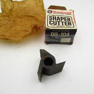 Vintage Delta Rockwell Shaper Cutter 09 104 D 104 1 2 Spindle 1 Straight Cut