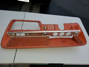 1962 62 Chevy Impala Belair Biscayne Dash Gauge Panel Red Gauges Used Hot Rod Gm