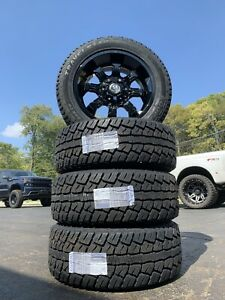 20 Wheels 275 55 20 All Terrain Tire Package For Ford F 150 Expedition Or Gm