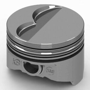 Kb Performance Pistons Pontiac 400 F T Piston Set 4 150 Bore 6cc Kb133 030