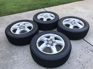 Porsche Cayenne Turbo 18 Wheels And Pirelli Scorpion Snow Tires 255 55 R18