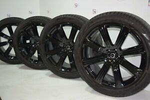 21 Volvo Xc90 2016 2020 21 Inch Black Factory Oem Wheels Rims Tires
