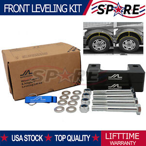 2 Front Leveling Lift Kit For Chevy Silverado 2007 2019 Gmc Sierra Gm 1500 Lm