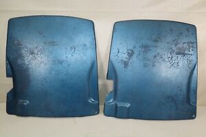 Pair Of Fiberglass Seatbacks For 1968 1969 Corvette Gm P N 3930440
