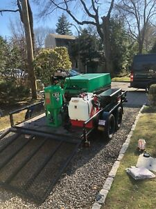 Dustless Blasting Db225 Mobile Unit With Compressor Trailer And Water Tank