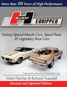 Hurst Equipped Revised Updated Edition Book Amc Mopar Amx Olds New Release
