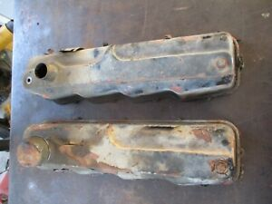 64 65 66 Dodge Plymouth Mopar Fury Coronet Charger Poly 273 318 Valve Covers Oem