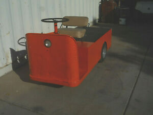 Taylor dunn Three Wheel Electric Utility Cart Model C4 32 36v tow Tug Golf