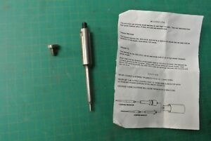 Ultrasonics Tapered Inch Dia Unknown Microtip Homoginizer For Sonifier Branson