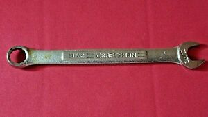 11 32 Craftsman Combination Wrench 44692 Vintage V Forged In Usa 4