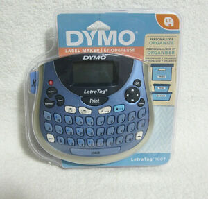 New Dymo Letratag Lt 100t Personal Label Maker Portable Factory Sealed Nos
