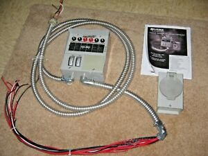 Reliance Protran 31406crk Manual Indoor Generator Transfer Switch And Outlet