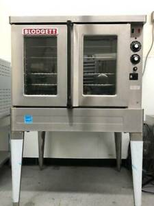 Blodgett Sho 100 e Single Deck Full Size Electric Convection Oven With Legs 22