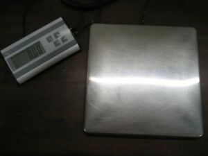 Used Smart Weigh Digital Heavy Duty Shipping And Postal Scale Stainless Steel