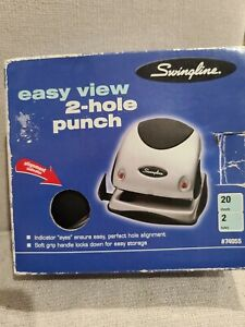 Swingline Easy View 2 Hole Punch