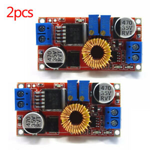 2pcs Dc dc Constant Current Voltage Regulator Step Down Converter 5v 12v 24v 5a