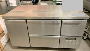 Continental Refrigerator Cra60 18m 60 Top Refrigerated Sandwich Prep Table