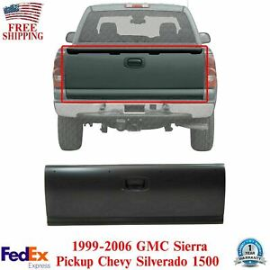 New Primered Rear Tailgate For 1999 2006 Chevy Silverado 1500 Gmc Sierra Pickup