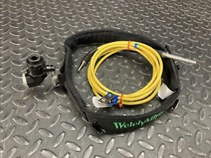 Surgical Headlight By Welch Allyn W Fiber Optic Cable And Head Gear
