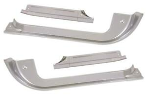 1977 1978 1979 1980 Chevy Gmc Truck Front Door Sill Plate Front Rear Set 4 Pc