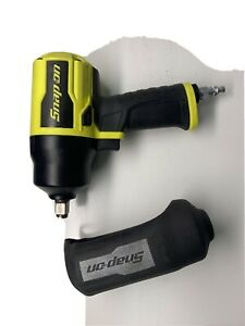 Snap on mint 1 2 Drive Pt850hv high Visibility Impact Wrench Like New