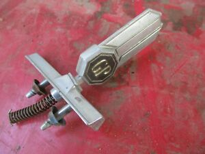 78 79 80 Grand Prix Hood Ornament Oem Complete With Base Spring