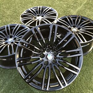 19 Bmw Rims Wheels Black 530i 540i G30 G31 664 M 550i Stock Oem Factory
