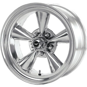 4 15x8 5 Polished American Racing Vintage Torq Thrust Wheel 5x4 5 5x114 3