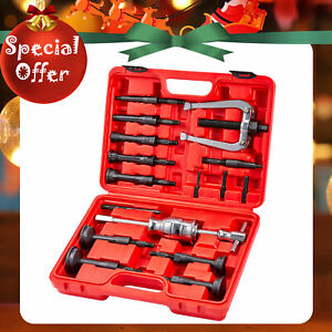 16pcs Extractor remover Bearing Puller Set Blind Hole Pilot Internal With Case