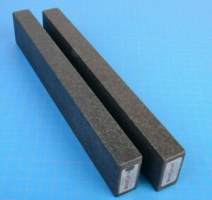 Collins Microflat Precision Granite Parallels Inspection 12 X 2 X 1 Pair