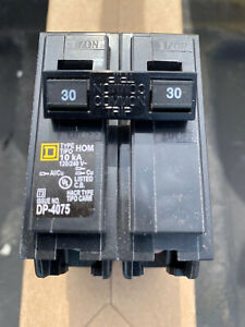 Square D Hom230 30 Amp 2 Pole Breaker
