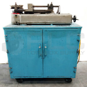 Parker Hb632 Hydraulic Tube Bender 3 8 2 On Portable Cart W Otc 4044 Pump