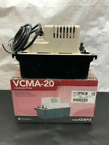 Little Giant Vcma 20uls Condensate Removal Pump