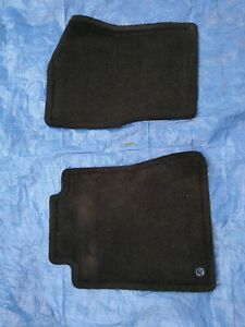 2005 2011 Ford Mustang Oem Factory Genuine Front Floor Mats Black Ebony Used