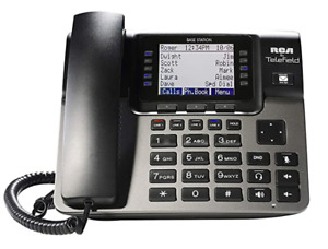 Rca U1000 Unison Base Station 4 Line Phone Systems For Small Business