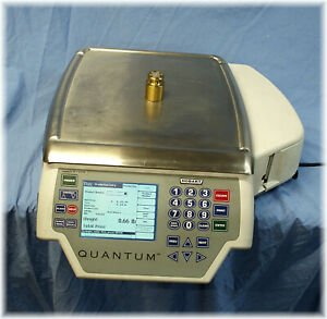 Hobart Quantum Max Front And Back Display Deli Scale Cleaned In And Out look