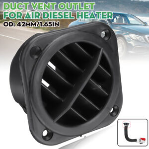 Car Ducting Warm Air Duct Vent Outlet Directional 42mm For Air Diesel Heater