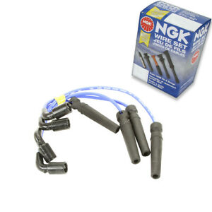 1 Pc Ngk Spark Plug Wire Set For 2006 2008 Chevrolet Aveo5 1 6l L4 Engine Ls