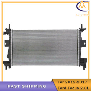 13219 Radiator Fit For 2012 2013 2014 2015 2016 2017 Ford Focus 4cyl 2 0l