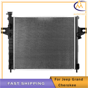 Radiator For 2001 2004 Jeep Grand Cherokee V8 4 7l Lifetime Warranty