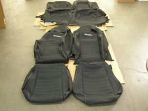 Oem Ford 2015 2018 Mustang Recaro Seat Covers New T O Interior 2016 2017 Set Nos
