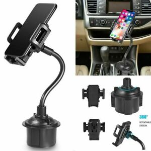 360 Adjustable Car Cup Holder Stand Gps Cradle Phone Mount For Chevrolet Gmc