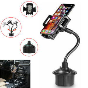 360 Adjustable Car Cup Holder Stand Gps Cradle Phone Mount For Jeep Cherokee