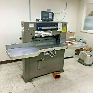 Challenge Mc 305 Paper Cutter With Programmable Microcut Controller